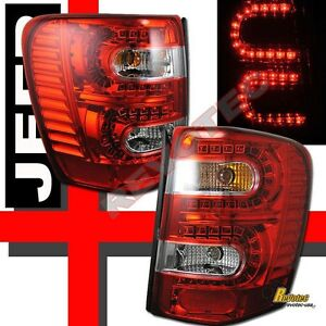 1999 2004 Jeep Grand Cherokee Led Tail Lights 1 Pair