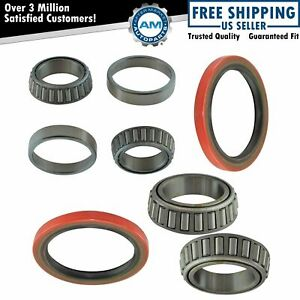 6 Piece Inner Outer Wheel Bearing Race W Seal Kit Lh Rh Sides For Toyota