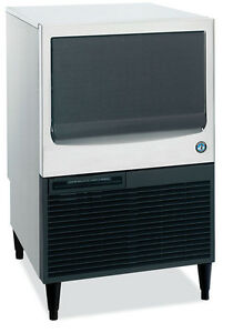 New 71 Lb Ice Cube Maker Machine With Bin Hoshizaki Km 61bah 5688 Commercial