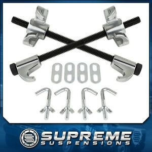 Strut Coil Spring Compressor Tool Remove Install Suspension With Safety Clamps