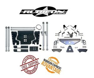 Rubicon Express Extreme Duty Long Arm Upgrade Kit W Tri Link 97 02 Jeep Tj