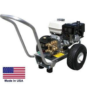 Pressure Washer Portable Cold Water 3 Gpm 2700 Psi 5 5 Hp Honda Eng Gpi