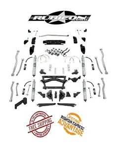 Rubicon Express 3 5 5 5 Extreme Duty Long Arm Kit W Coilovers 07 16 Jeep Jku