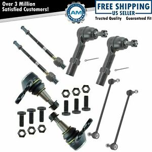 Lower Ball Joint Inner Outer Tie Rod Sway Bar Link For Acadia Traverse Enclave