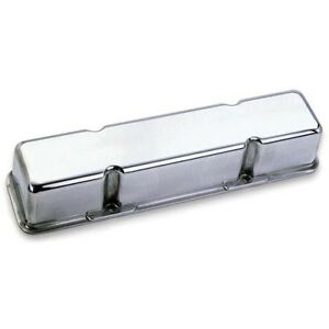 Moroso 68405 Die Cast Aluminum Valve Covers Chevy Sbc 283 305 350 400 Polished