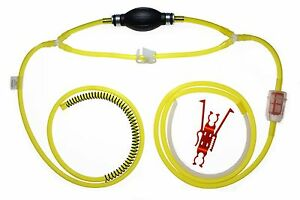 Gasoline Diesel Water Siphon Pump 9 Feet Of Real Fuel Hose Uni Filter