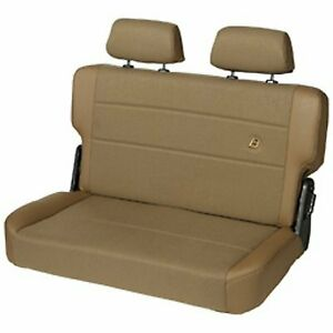 Bestop Seat Trailmax Ii Fold And Tumble Rear Bench Fabric Spice Jeep Each