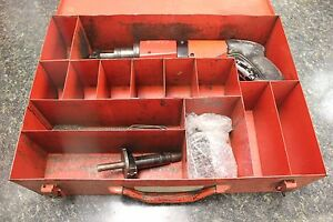 Hilti Dx 400 Power Actuated Nail Gun With Metal Box E7289 2 ar Loc front