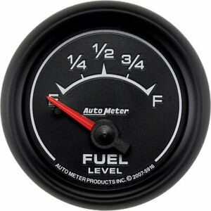 Autometer Fuel Gauge Gas New 5916