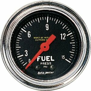 Autometer Fuel Pressure Gauge Gas New 2411