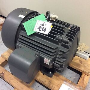 Baldor Motor 60 30hp Motor 405ts 3ph 60hz 460v 71 46amp 1760 870rpm