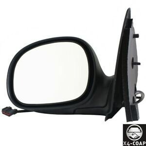 Fit For Ford F 150f 250 Frontleft Driver Side Chrome Door Mirror 1l3z17683caa