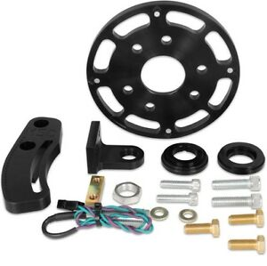 Msd 86003 Black 6 25 Balancer Crank Trigger Kit For Chevy Small Block
