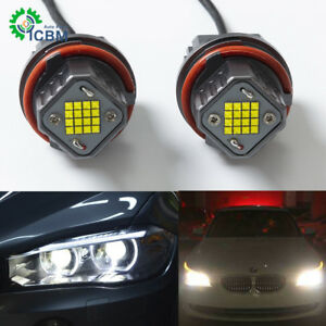 Super Bright Cree 80w 6500k Bmw Led Halo Ring Angel Eye Bulb E39 E53 E60 E61 E63