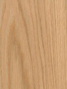 Red Oak Wood Veneer Plain Sliced 10 Mil Paper Backer 2 X 8 24 X 96 Sheet