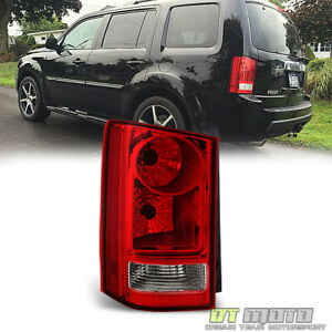For 2009 2015 Honda Pilot Tail Light Brake Lamp Replacement 09 15 Lh Driver Side