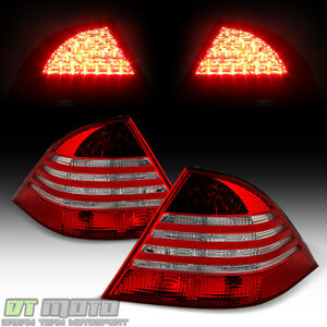2000 2006 Mercedes Benz W220 S430 S500 S600 S55 Led Tail Lights Rear Brake Lamps