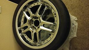 18 Zyoxx Rims With Tires And Zyoxx License Plate