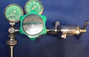Mckesson Dental Compressed Oxygen gas Regulator Selling As Is For Parts