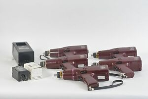 Lot Of 5 Hios Torque Controlling Driver Power Electric Screwdriver F 9000s 9500