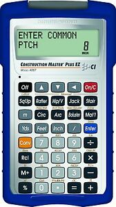 New Calculated Industries 4067 Master Plus Ez Construction Project Calcul