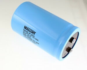 1x 60000uf 50v Large Can Electrolytic Aluminum Capacitor 60000mfd 50vdc 60 000