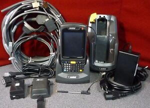 Symbol Mc70 Motorola Pda Wireless Laser Barcode Scanner 7317