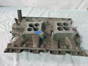 Ford 427 Low Rise Dual Quad Intake Mpn C3ae 8425 K Needs Work