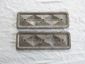 Chevy Car Pickup Truck 230 250 6cyl 6 Cyl Cylinder Engine Motor Side Covers