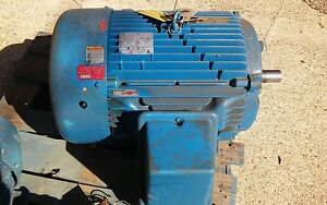 60 Hp 1800 Rpm 364ts 460volt Electric Motor Usem C60e2f8 p