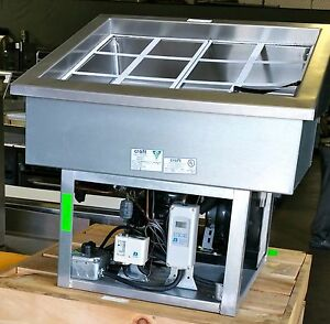 New 30 Drop In Refrigerated Topping Station Food Rail 3190 Cold Pan Craft Cp1 4
