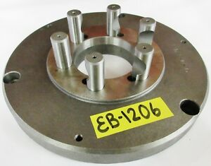 10 Chuck Adapter Plate D1 5 Spindle Mount 1 Thickness