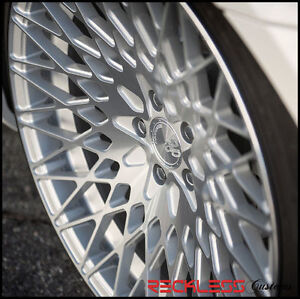 19 Avant Garde M540 Staggered Silver Wheels Rims Fits Lexus Ls460