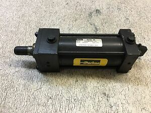 Parker Cylinder Mod 02 50csb2au34ac 4 37 Envelope Press 250 Psi Air Used