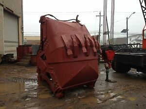 Clamshell Bucket Erie 3 Yard Round Nose Dredging Digging Bucket
