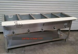 New 5 Well Electric Steam Table Duke Aerohot E305 4664 Commercial Food Warm Nsf