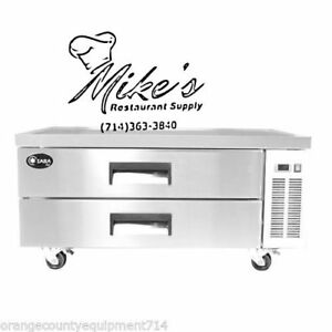 New 52 2 Drawer Refrigerated Chef Base Cooler Saba Scb 52 4461 Equipment Stand