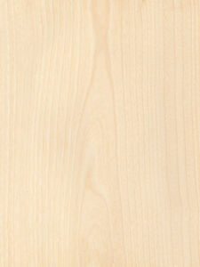 Birch White Veneer Plain Sliced Wood On Wood Backer Backing 4 X 8 Sheet