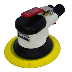 Hutchins 6 Vacuum Assist Random Orbital Sander With 3 16 Offset Psa Pad 3970