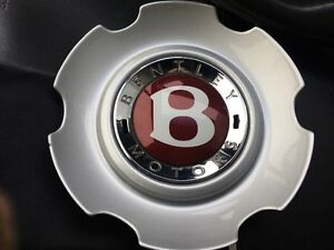 Bentley Wheel Center Cap Lemon