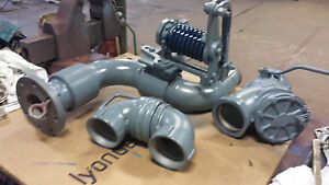 4 Emco Wheaton Top loading Arm Load Valve custom Piping Not Pictured