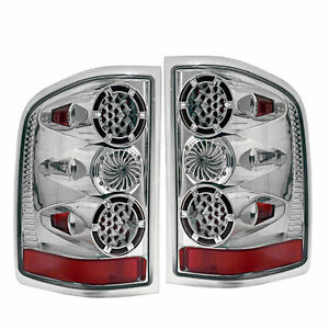 Fits 07 13 Chevy Silverado 1500 2500 3500 Led Tail Brake Lights Lamps Left Right