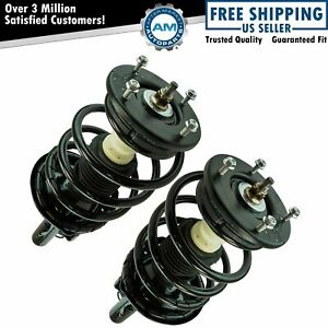 Front Loaded Quick Complete Strut Spring Assembly Lh Rh Pair 2pc Set For Fwd