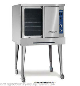 New Single Gas Convection Oven Imperial Icv 1 4558 Commercial Bakery Nsf Std