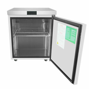 New 1 Door Under Counter Freezer Atosa Mgf8405 1020 Commercial Restaurant Nsf