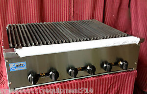 New 36 Radiant Charbroiler Grill Gas Stratus Srb 36 1186 Commercial Restaurant