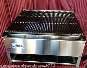 New 24 Lava Rock Char Broiler Grill Rocks Stratus Scb 24 1120 Commercial Nsf