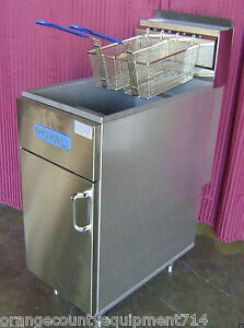 New 50 Lb Deep Fat Fryer Lp Propane Royal Rftm 50 1477 Commercial Restaurant Nsf