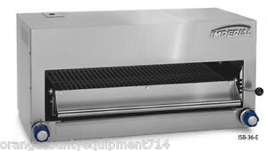 New 36 Salamander Broiler Electric Imperial Isb 36 e 4578 Commercial Bake Nsf