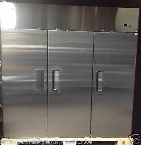 New 3 Door Reach In Freezer Atosa Mbf8003 1149 Stainless Steel Commercial